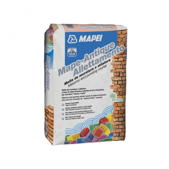MAPE-ANTIQUE ALLETTAMENTO 25 KG COLOR TUFO - MAPEI